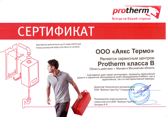 Protherm Гризли 65 KLO